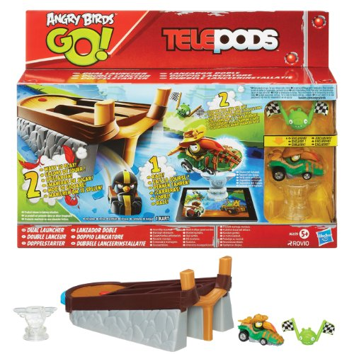 Plateforme double lancement Angry Birds Go Telepods Dual ( par angry birds)