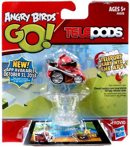 Red, oiseau rouge -Angry Birds GO! Telepods Hasbro