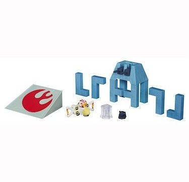 Star Wars Télépods Death Star Trench Run Hasbro  (Import Royaume-Uni)