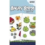 Angry Birds – Tatouages – Tattoo Sticker Pack 1