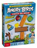 Mattel Jeux- Angry Birds – Jeu de Société avec cartes – Knock on Wood
