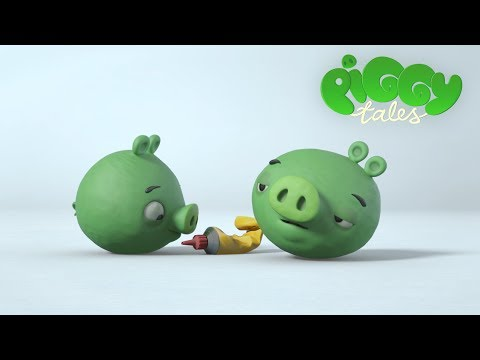 "Piggy Tales: ""Super Glue"""