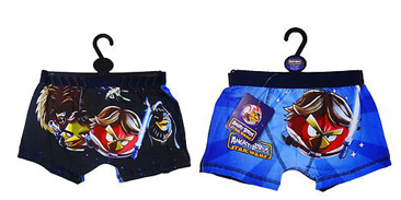 Boxer (5,7,9ans) – slip – Angry Birds Star Wars