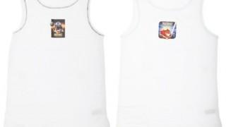 lot de 2 maillots de corps (3 à 8 ans) – Garçon Angry Birds Star Wars –