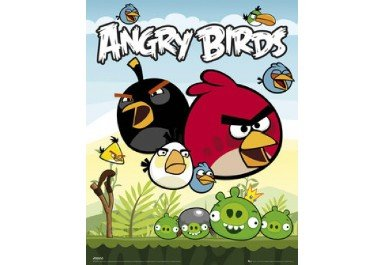 Tableau Angry Birds pour chambre