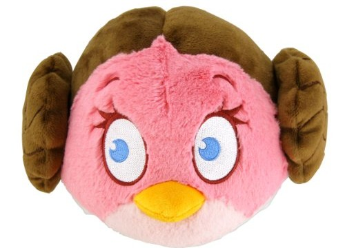 Princess Leia – Angry Bird Star Wars –  peluche – 13 cm