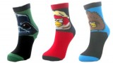 6 paires chaussettes (taille 39-46) – adulte- Angry Birds Star Wars