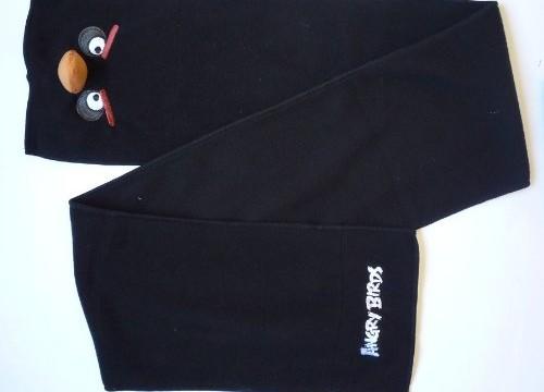 Echarpe en POLAIRE -noir – Angry Birds