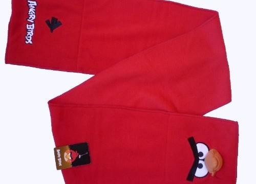 Echarpe en POLAIRE rouge – Angry Birds