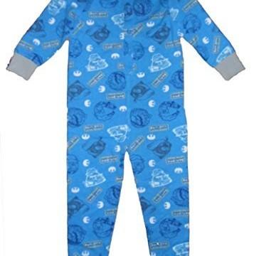 Pyjama (3 à 10 ans) Combinaison Angry Birds – Star Wars- Garçons 100% Coton