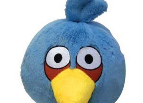 Oiseau bleu –  Angry Birds – 15cm -en peluche