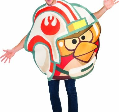 Luke Skywalker pilot – Adulte – Taille Unique – Angry birds – Déguisement