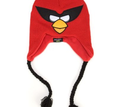 Bonnet  Red l'oiseau rouge Peruvien – Angry Birds Space