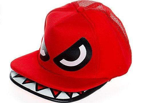 Casquette de Baseball adulte –  Rouge -Angry Birds