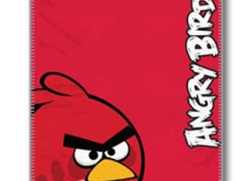 Couverture en laine polaire-Angry Birds
