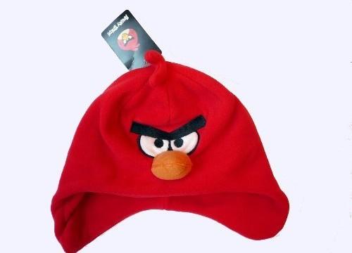 Bonnet (2-4 ans) polaire avec protège-oreilles / cache-oreilles  Angry Birds