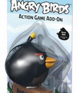 Bomb(oiseau noir) –  Angry Birds Extension –  Jeu de Plein Air