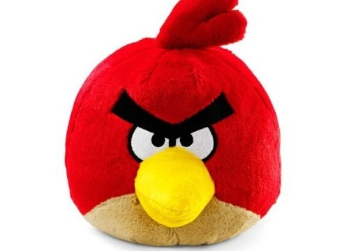 Red (l'oiseau rouge) d'Angry Birds – 20 cm – Peluche