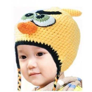 Bonnet  (1 à 3 ans) Chuck (l'oiseau jaune) Angry birds