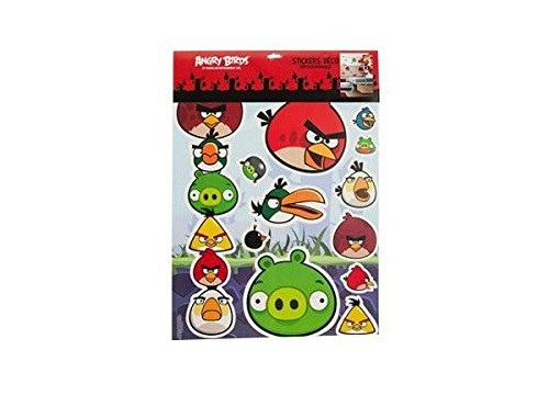 Sticker Autocollants Mural Angry Birds