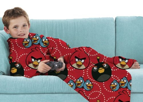 Couverture  polaire  – Plaid –  90 x 110 cm -Angry Birds