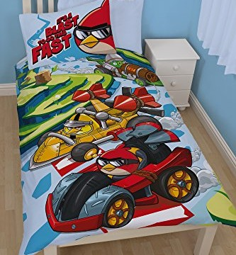 Duvet – Angry Birds Go ! – La course – Fast Single