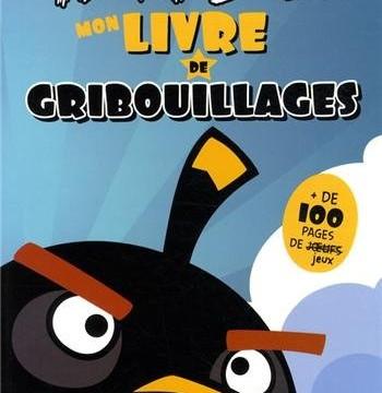 Mon livre de gribouillages : Angry birds
