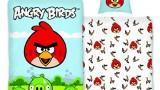 Parure de lit  housse de couette taie d'oreiller coton 140 x 200 cm  Angry Birds