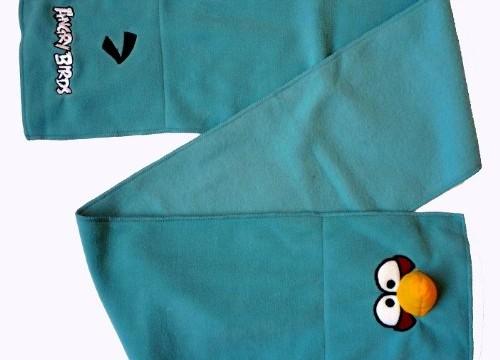 Echarpe en POLAIRE Bleue Claire – Angry Birds