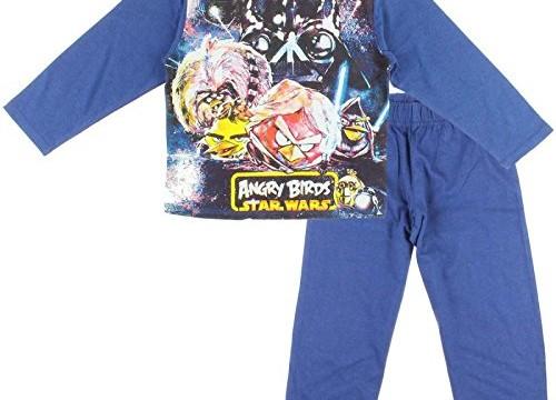 Pyjama (4 au 8 ans) Angry Bird Star Wars Manches longues