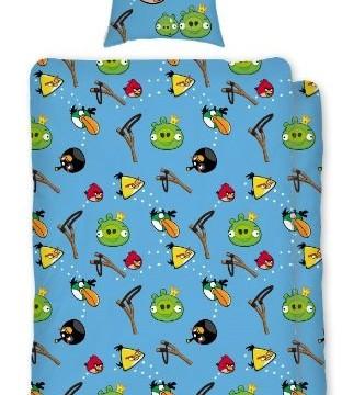 Housse de couette 140x200cm -100% Coton – Angry Birds