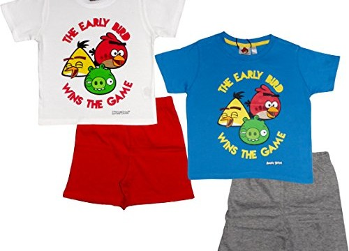 Pyjamas/short/ t-shirt (2  et 3 ans) Angry Birds / été