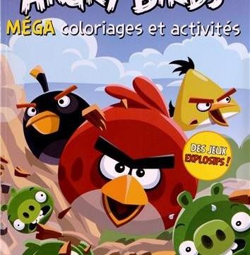 Méga coloriages et activités  : Angry Birds