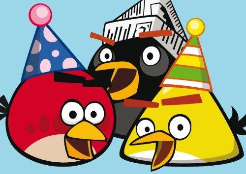 Carte Fête – Angry Birds