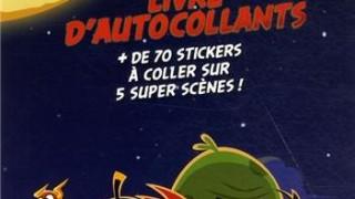 Livre d'autocollants  :  Angry Birds Space