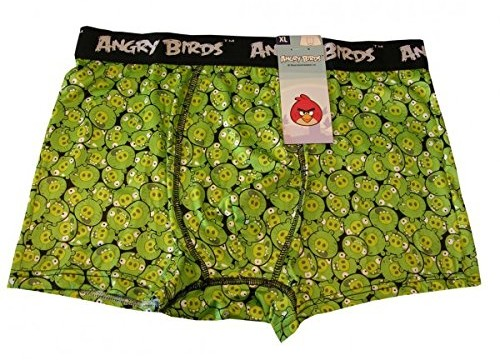 Boxer (adulte : small, medium, large, xl) – Microfibre  – Angry birds