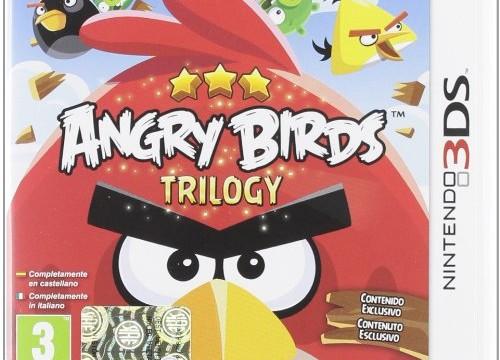 (Nintendo 3DS, Nintendo 2DS) Angry Birds : trilogy [import italien/espagnol]