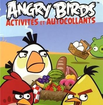 Angry Birds : Activités et autocollants