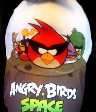 Casquette Blanche- Angry Birds Space