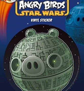 Poster-Sticker Autocollant : Angry Birds Star Wars Death Pig (15 x 10 cm)