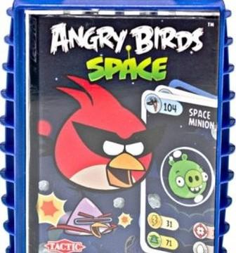 Power Cards – Jeu de cartes -Angry Birds Space -Tactic – 40770 –
