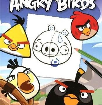 Je dessine les Angry Birds