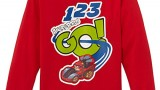 T-shirt (2,3,4,6,8 ans) – Angry Birds Go – Garçon – Rouge