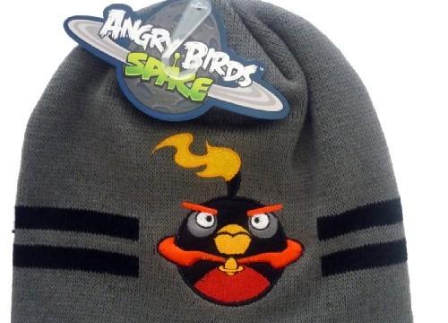 Bonnet Gris Bomb, l'oiseau noir – Angry Birds Space