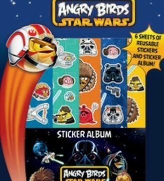 Autocollants – Cahier D'activités – Angry Birds  Star Wars