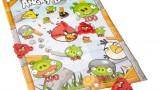 Lanceur + 3 Têtes Plates Splat + 1 Cible Angry Birds  – Angry Bird  – Jeu de Plein Air – Strike & Shoot – 035119