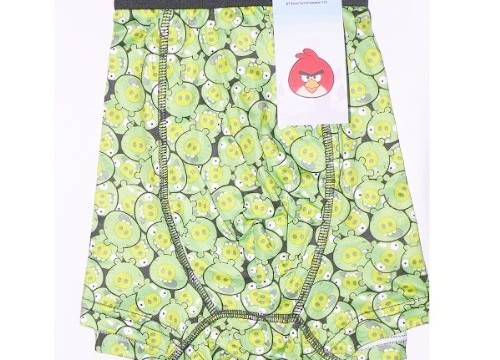 Boxer ( small, medium, large, xl) Les cochons d' Angry birds