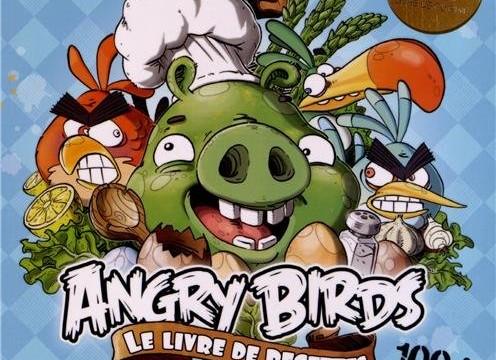 Angry Birds : Le livre de recettes 100% oeufs