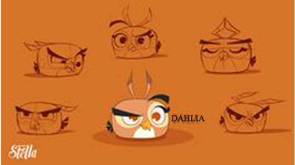 « Je m'appelle Dahlia » (20 secondes) Angry Birds Stella Bande annonce n°6