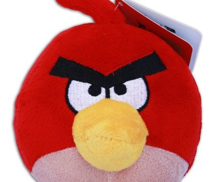 Red (l'oiseau Rouge) d' Angry Birds -10cm – Peluche